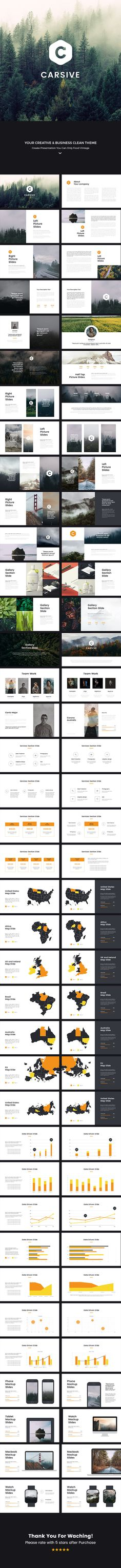 Carsive Clean Powerpoint Template — Powerpoint PPT #pptx #ppi • Download ➝ https://graphicriver.net/item/carsive-clean-powerpoint-template/18961293?ref=pxcr