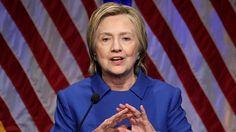 La candidata demócrata volvió a enfrentar al público después de perder en las elecciones presidenciales frente a Donald Trump