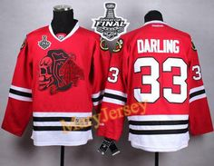 Only  34.88 please email me at maryjerseyelway gmail.com for Blackhawks 33  Scott Darling Red(Red Skull) 2015 Stanley Cup Stitched NHL Jersey d38609821