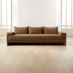 Furniture Decor, Living Room Furniture, Upholstered Daybed, Black Floor Lamp, Red Curtains, Large Sofa, Leather Sectional, Velvet Sofa, Modern Sofa