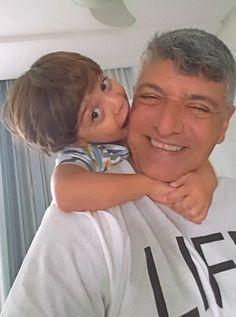 Eu e meu neto João Guilherme.