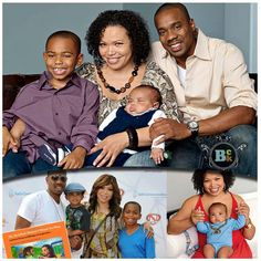 ... Cute Family, Family First, Beautiful Family, Family Life, Beautiful Things, Black Celebrity Kids, Celebrity Couples, Celebrity Pictures, Duane Martin