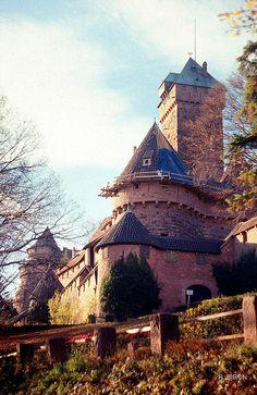 Haut-Koenigsbourg (Alsace, France)