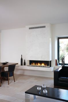 Clear 130 TS modern fireplaces