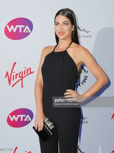 Ajla Tomljanovic attends the annual WTA Pre-Wimbledon Party presented by Dubai Duty Free at The Roof Gardens, Kensington on June 25, 2015 in London, England.