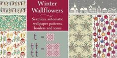 Winter Wallflowers font download