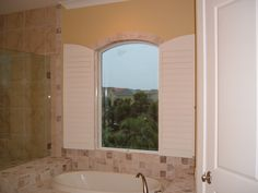 1000 Images About Arched Plantation Shutters On Pinterest Plantation Shutter Interior