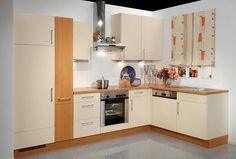 cucine-ad-angolo-moderne-mobili-rossi-scuri | Cucine | Pinterest