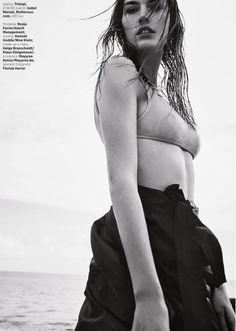 Harper's Bazaar Czech August 2017 Ronja Furrer by Andreas Ortner - Fashion Editorials