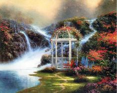 I love Thomas Kinkade... it's just so beautiful.