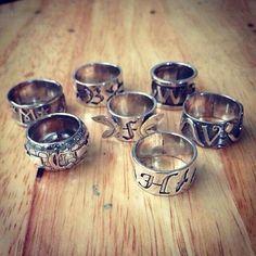 anéis das famílias de caçadores de sombras