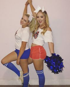 BMS Blue Mountain State Cheerleader college girl Halloween costume