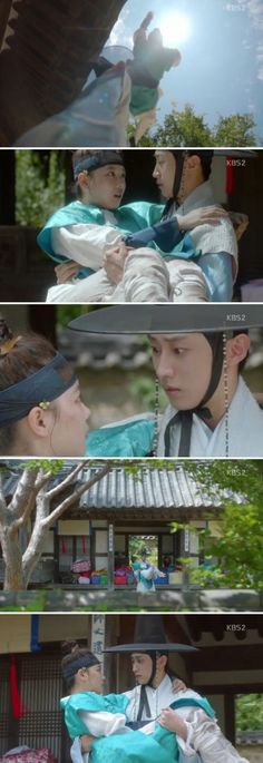 [Spoiler] Added episode 2 captures for the #kdrama 'Moonlight Drawn by Clouds'