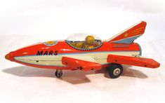 Vintage Tin Toy Robots ~ Antique Space Cars ~ Buddy L Trucks