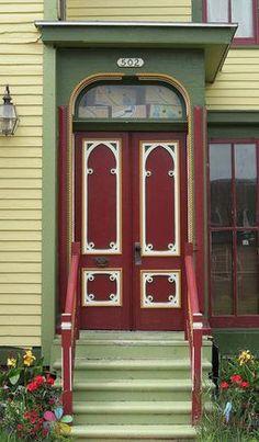 Muskegon, Michigan #red #doors #myobsessionwithreddoors