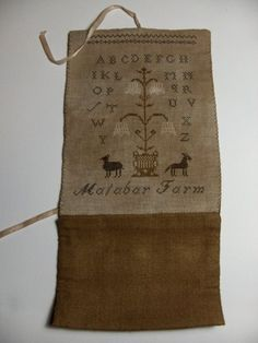 Malabar Farm Sewing Roll ~ design by Stacy Nash Primitives