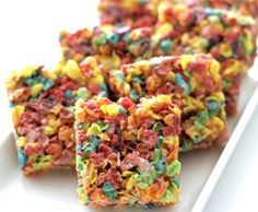 Fruity Pebbles Treats - otherwise known as Hormuth/Oliver Family Road Trip Treats. (we even took them with us to Paris) :)