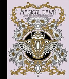 "Magical Dawn Coloring Book: Published in Sweden as ""Magisk Gryning"": Amazon.de: Hanna Karlzon: Fremdsprachige Bücher"