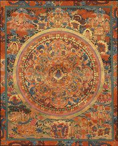 Tibetan Buddhist Rahula Mandala