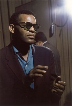 theniftyfifties: Ray Charles photographed by Lee Friedlander, 1959.