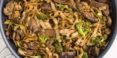 Best Skinny Beef & Broccoli Noodles Recipe - How to Make Skinny Beef & Broccoli Noodles