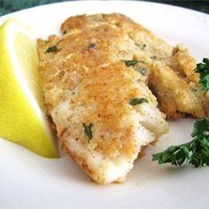 Almond-Crusted Tilapia - Allrecipes.com