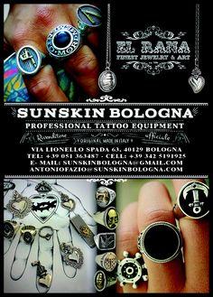 El Rana Jewelry Bologna  #tattooequipment #bologna #jewelrybologna #elrana #elranajewelry