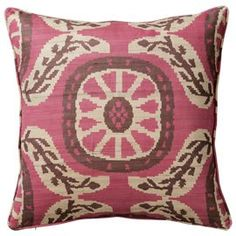 We have a beautiful range of luxury cushion covers, floor cushions, outdoor cushions and luxury duck feather filled cushion pads. Luxury Cushions, Pink Cushions, Ikat Pillows, Printed Cushions, Pink Cushion Covers, Cushion Pads, Country Cushions, Ikat Print, Pink Black