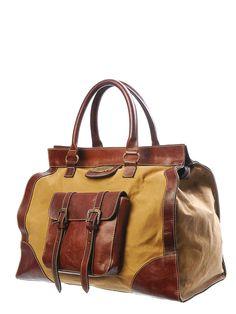Sandast - Cayman Canvas Bag (Brown).