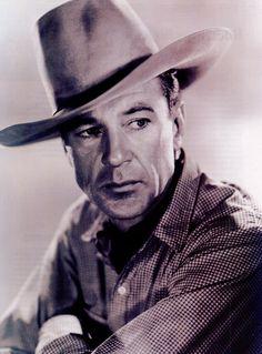 """Gary Cooper en """"El caballero del oeste"""" (Along Came Jones), 1945"""