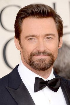 Actor Hugh Jackman at the 70th Annual Golden Globe Awards - Red Carpet