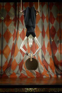Louis #Vuitton Paris #shop window.