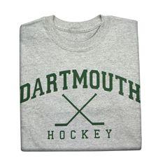 Dartmouth Hockey t-shirts, Hockey t-shirts with College logo