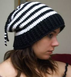 April Draven: Free Convertible Hat Pattern - Slouchy hat, Beanie, Slouchy with ponytail pull-through, or even a Scarf!
