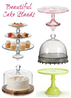 Beautiful Cake Stands on Sale at Zulily