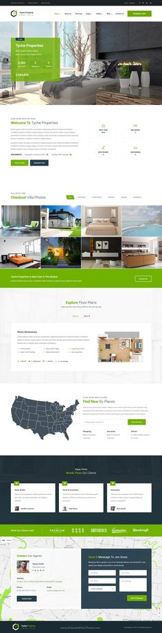 Very nice website template! Good mix of colors, text and images to keep the viewer interested.