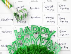 New Year Training Goals - How to Stick to New Year's Resolution @John Nell | tiperrific