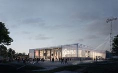 Gallery of EFFEKT's Winning Proposal Converts Abandoned Warehouse Into Cultural Hub - 1