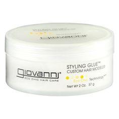 Giovanni Styling Glue Custom Hair Modeler, 2.0 OZ, Multicolor