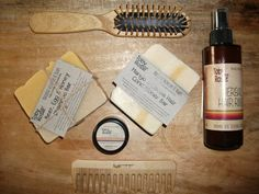 Shampoo Bar, Conditioner, Balm and Hair Rinse by @tobyandrosie