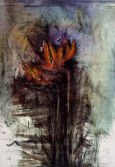 Bird of Paradise (From Flowers in Manhattan) by Jim Dine, 1999