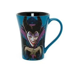 Disney Villains Mug Maleficent | Mugs | Disney Store ($14) found on Polyvore