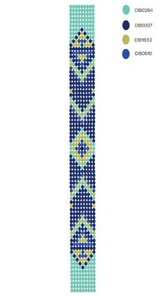 DIY - motif bracelet perles