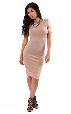 Sofia Bodycon Midi Dress (more colors)
