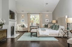 Transitional | Meridith Baer Home | Home Staging - - exactly the colours I want