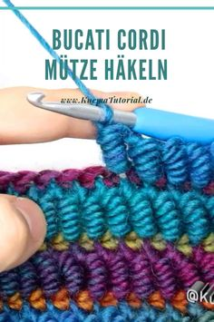 Bucati Cordi Mütze Häkeln – Knitting And Crochet Crochet Simple, Crochet Diy, Crochet Crafts, Crochet Projects, Diy Crafts, Crochet Bag Tutorials, Crochet Scarf Easy, Crochet Cord, Easy Knitting Projects