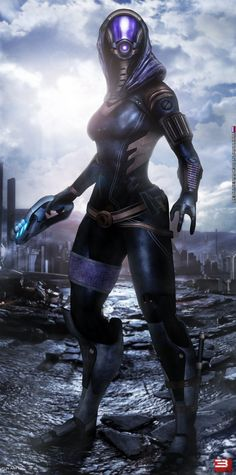 Mass Effect 3 Tali' Zorah (2014) by RedLineR91 on DeviantArt