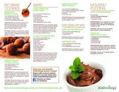 chocolate shakeology dessert recipes