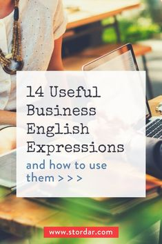 Here are some the most useful business English expressions to help you rock small business talk expressing yourself (like a boss) this year. English Exam, Kids English, English Book, Learn English, English Class, English Phrases, English Idioms, English Words, English Lessons