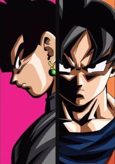 Black Goku Vs Son Goku